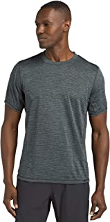 prAna Men's Hardesty Shirt, Grey Blue Stripe, X-Large