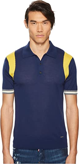 DSQUARED2 - Color Block Sweater Polo