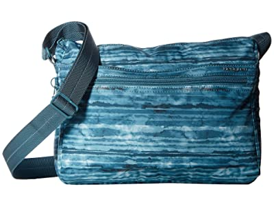 Hedgren Eye RFID Medium Shoulder Bag (Aqua Print) Shoulder Handbags