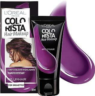 L'Oréal Paris Colourista Hair Makeup - Plum (Temporary 1-Day Colour Highlights)