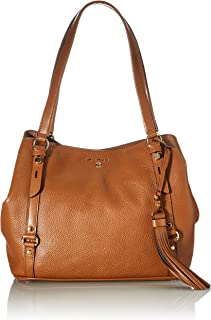 Michael Kors Womens Carrie Handtasche, Luggage, Large