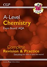 A-Level Chemistry: AQA Year 1 & 2 Complete Revision & Practice with Online Edition