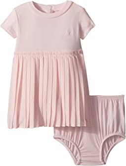 Ralph Lauren Baby - Jersey T-Shirt Dress & Bloomer (Infant)