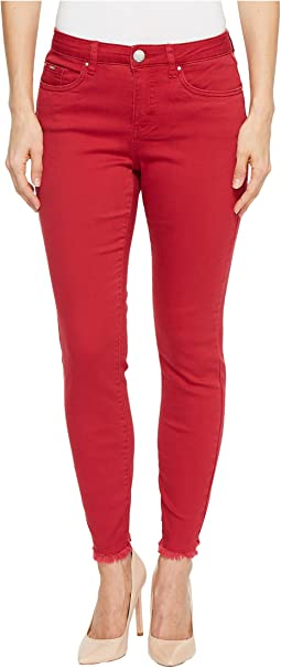 FDJ French Dressing Jeans - Sunset Hues Olivia Slim Ankle in Red