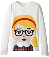 Dolce & Gabbana Kids - Back to School Bimba Bionda Long Sleeve T-Shirt (Big Kids)