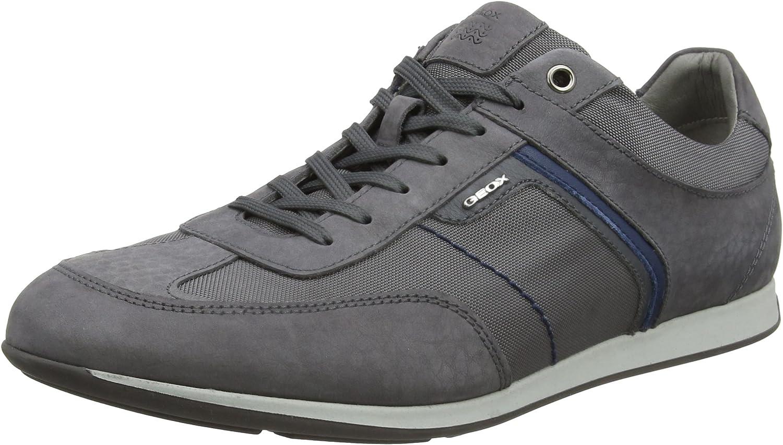Geox Men's's U Clemet B Low-Top Sneakers