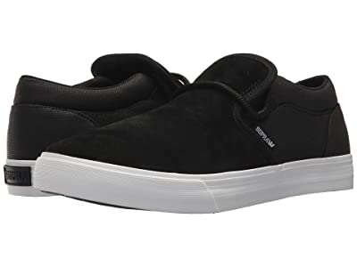 Supra Cuba (Black/White/Suede) Men