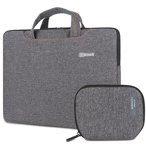93e8ab8ad1c109 Brinch 15-15.6 Inch Laptop Bag, Slim Portable Water Resistant Laptop Sleeve  Case Handbag