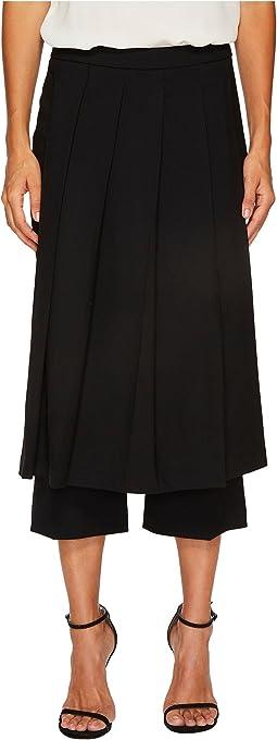 Fine Tricotine Skirt Pants