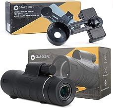 STARSCOPE Monocular & Phone Mount Bundle - Monocular Telescope Phone Tripod For Mobile Phone | Monocular Telescope Adapter...