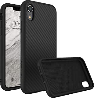 RhinoShield Ultra Protective Phone Case [ iPhone XR ] SolidSuit, Military Grade Drop Protection for Full Impact, Supports Wireless Charging, Slim, Scratch Resistant, Carbon Fiber Texture
