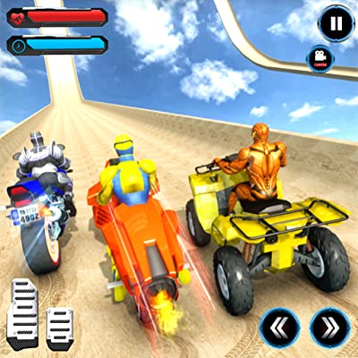 ATV Quad Bike Speed Hero Mega Ramp Stunt Games