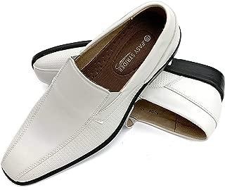 Men's Slip-On Designer Dress Shoes   Leather Lined Comfort   Elegant Designer Look   Perfect Wedding & Business Dress Shoe   Available in Regular & Big & Tall Sizes