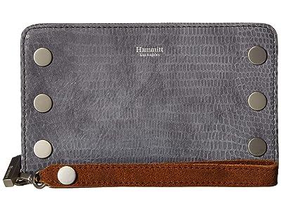 Hammitt 395 North (Slate Tejus/Arches Buffed/Brushed Silver) Handbags