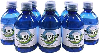 AQUAPAP Health CPAP Water Vapor Distilled 8 Pack of 8oz Bottles