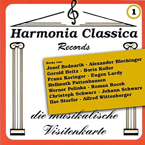Harmonia Classica 1 Die Musikalische Visitenkarte By