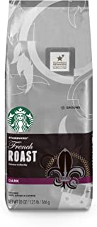 Starbucks Dark Roast Ground Coffee — French Roast — 100% Arabica — 1 bag (20 oz.)