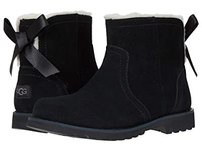 UGG Kids Cecily (Little Kid/Big Kid) (Black) Girl