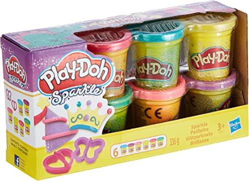 Play-Doh Pte à Paillettes
