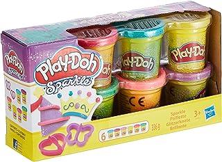 Play-Doh A5417EU9 Play-Doh Sparkle Compound Collection