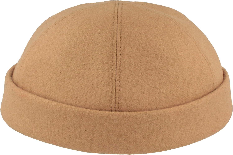 Sombrero Docker para Hombre Gorro Docker FABRICADO EN ALEMANIA Hecho a mano C/ómodo y ligero de llevar 100/% Lino