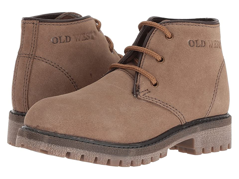Old West Kids Boots Cedar Point (Little Kid/Big Kid) (Suede) Boys Shoes