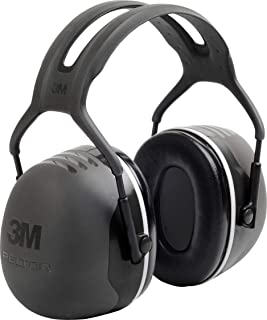 3M PELTOR X5A Over-the-Head Ear Muffs, Noise Protection, NRR 31 dB, Construction,..