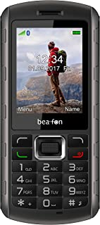 Beafon Outdoor Handy 'AL560' (Bluetooth, Freisprechfunktion) Schwarz/Silber