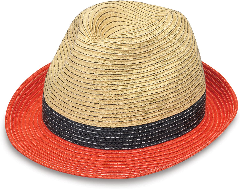 Wallaroo Hat Company St. Tropez Trilby – Unisex, Designed in Australia, Tri-Toned