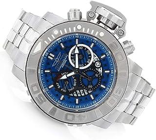 Invicta - Sea Hunter Gen II Reloj de acero inoxidable con cronógrafo suizo de 70 mm, esfera azul