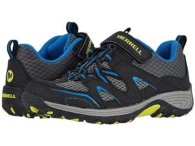 Merrell Kids Trail Chaser (Little Kid/Big Kid) (Black/Blue) Boy