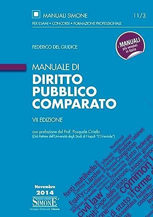 Manuale di Diritto Pubblico Comparato: con prefazione del Prof. Pasquale Ciriello (Già Rettore dellUniversità degli Studi di Napoli LOrientale)