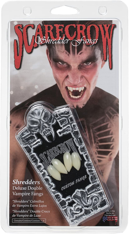 ScarecrowTM  Shredder Double Fangs Vampire Halloween Accessory