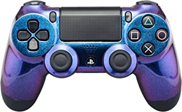 eXtremeRate Custom Design Unique Chameleon Chamillionaire Glossy Front Housing Shell Faceplate Playstation 4 PS4 Controller JDM-001 JDM-011 JDM-020