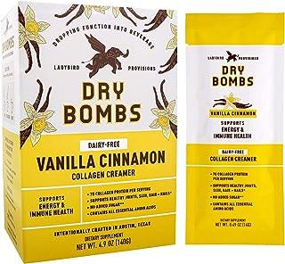 Ladybird Provisions - Vanilla Cinnamon Collagen Creamer, Collagen Powder, Peptides for Energy & Immune Support, Coconut Oi...