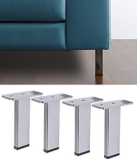 IPEA 4X Piedini per Divani e Mobili Modello Tilt – Set di 4 Gambe in Ferro – Piedi dal Design Moderno Ed Elegante Couleur ...