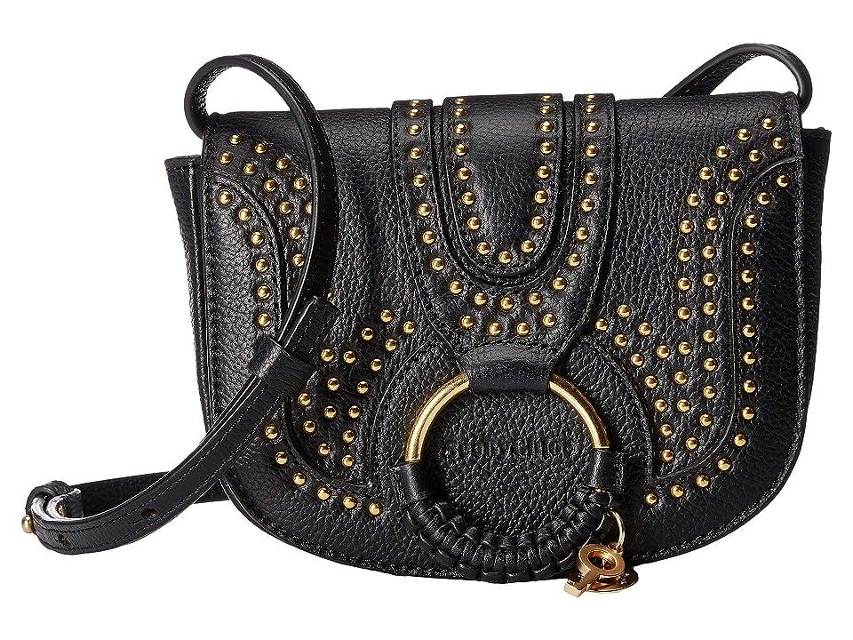 See by Chloe Hana Mini Crossbody (Black) Cross Body Handbags
