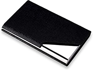 SNDIA PU Leather Pocket Size Business Credit Card Holder for Men and Women (Style-3)