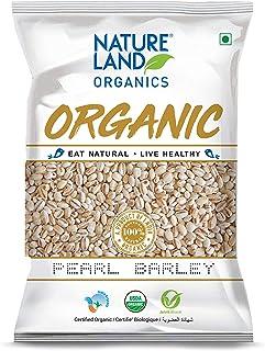 Natureland Organics Pearl Barley 500 Gm - Organic Barley