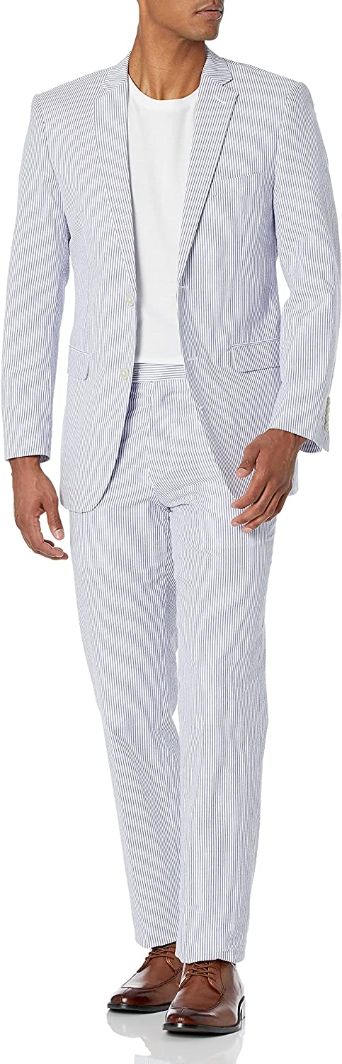 U.S. Polo Assn. Men's Big and Tall Cotton Suit