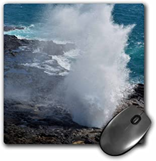 3dRose Mouse Pad Blow Hole Spouting Horn in Kauai - 8 by 8-Inches (mp_192643_1)