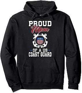 Proud US Coast Guard Mom Pullover Hoodie