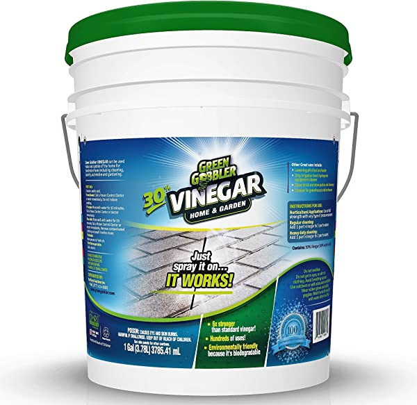 Green Gobbler Ultimate Vinegar Home Garden 30 Vinegar Concentrate Hundreds Of Uses 5 Gallon Pail