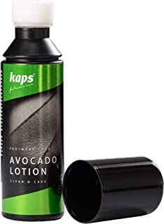 Footwear interior cleaner, cares and cleans the inside of shoes, Kaps Avocado Lotion