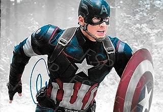 Chris Evans Autograph Replica Poster Print - Captain America