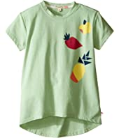 Appaman Kids - Super Soft Short Sleeve Circle Tee with High-Low Hem (Toddler/Little Kids/Big Kids)