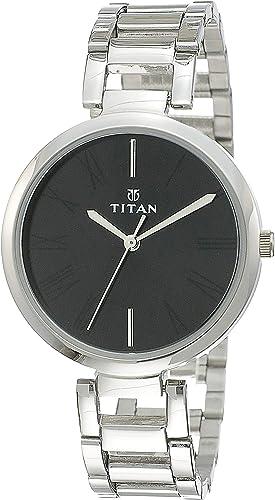 Titan Youth Analog Black Dial Women's Watch NM2480SM02 / NL2480SM02