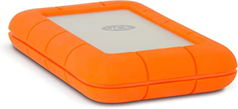 LaCie Rugged 2TB Thunderbolt and USB 3.0 Portable Hard Drive + 1mo Adobe CC All Apps (LAC9000489) (Renewed)