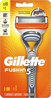 Gillette Fusion5 Men's Razor Handle +2 Refills