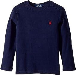 Polo Ralph Lauren Kids - Waffle-Knit Cotton T-Shirt (Toddler)